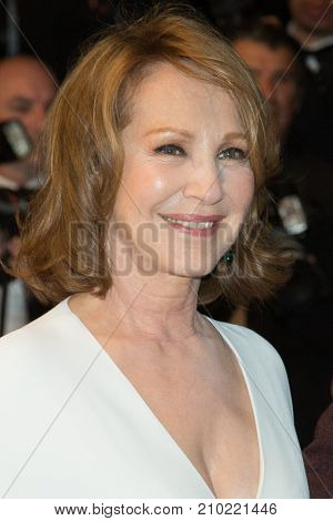 CANNES, FRANCE - MAY 19, 2016: Nathalie Baye attends the 'It's Only The End Of The World (Juste La Fin Du Monde)'  premiere during the 69th annual Cannes Film Festival at the Palais des Festivals