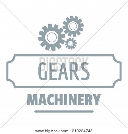 Process machinery logo. Simple illustration of process machinery vector logo for web