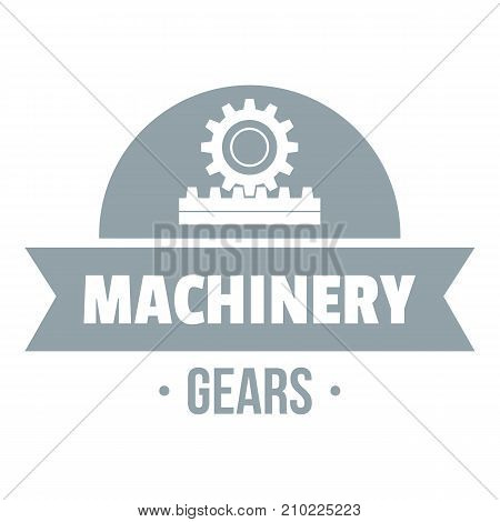 Technical machinery logo. Simple illustration of technical machinery vector logo for web