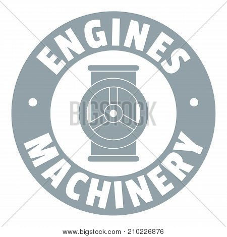 Automation machinery logo. Simple illustration of automation machinery vector logo for web
