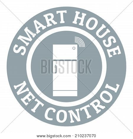 Net control logo. Simple illustration of net control vector logo for web