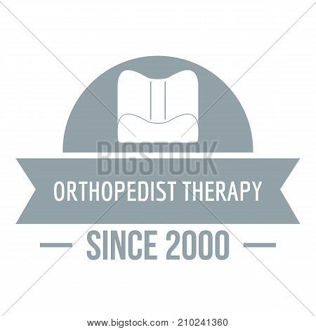 Orthopedic therapy logo. Simple illustration of orthopedic therapy vector logo for web
