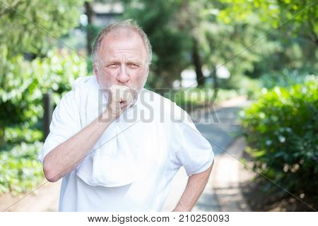 Coughing Old Man