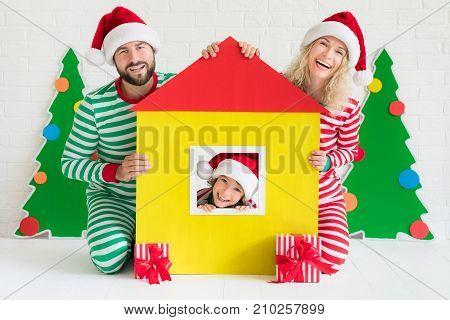 Christmas Home Holiday Design Concept