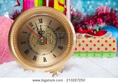 Christmas  Watch Still Life.