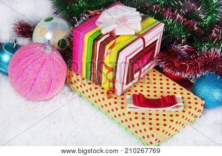 Photo Of Christmas Presents.