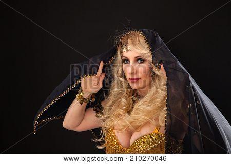 Beauty Blond Woman Portrait