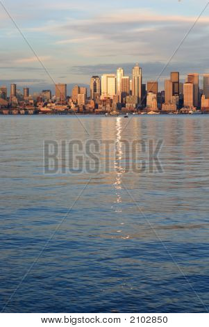 Highrise Of Downtown Seattle