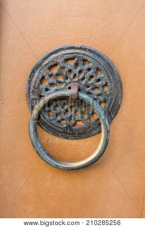 Handmade Ottoman Door Knob Made Of Metal