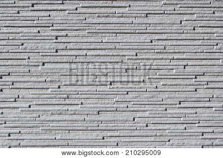 grey wall with a thin slab texture poster