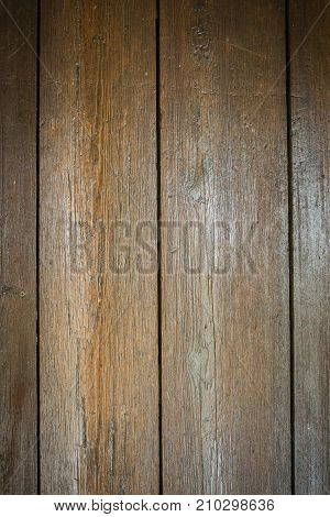 Worn and well used floor boards with vignette for backgrounds.