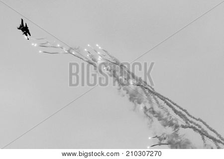 21 Oct 2017. Izhevsk, Russia Airshow In The City