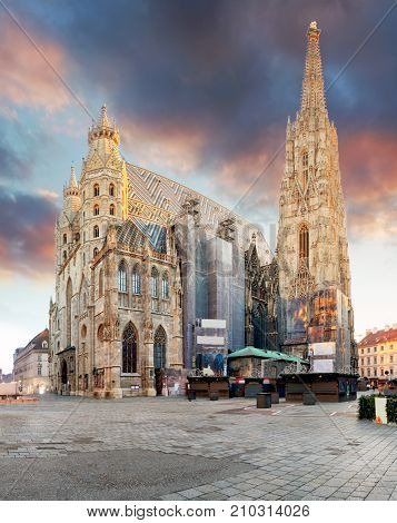 Vienna - St. Stephan cathedral Austria Wien