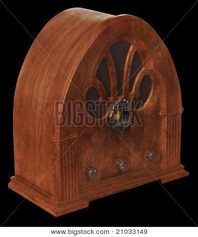 Gothic Radio Isometric