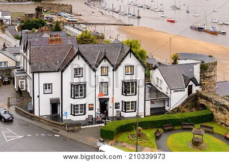 Architecture Of Conwy, Wales, Great Britain
