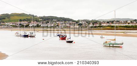 Port Of Conwy, Wales, Great Britain