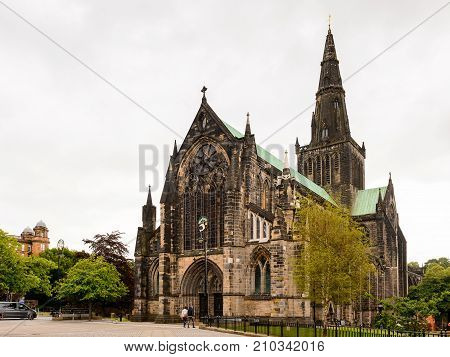 Cathedral Quater Of Glasgow, Scotland.
