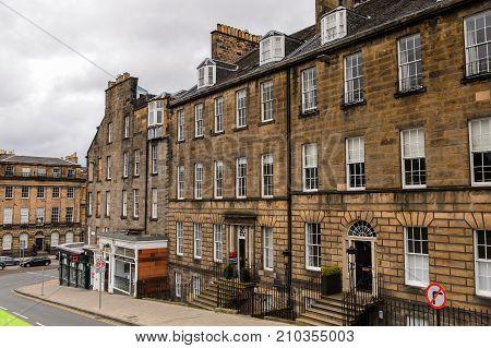 Achitecture Of Edinburgh, Scotland.