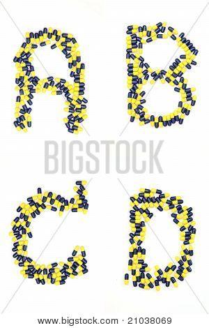 Alphabet Abcd Capsule