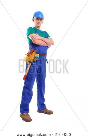 Builder With Toolbelt