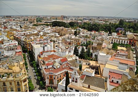 Panorama of central Seville