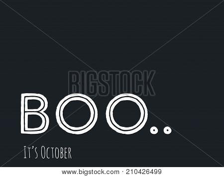 Halloween Message Boo!