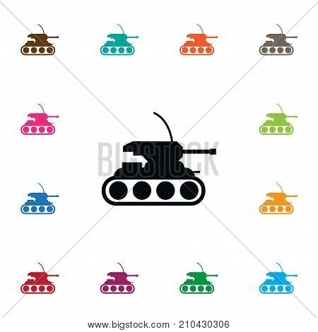 Army Vector Element Can Be Used For Tank, Army, Panzer Design Concept.  Isolated Tank Icon.