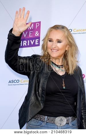 Melissa Etheridge arrives at the taping of