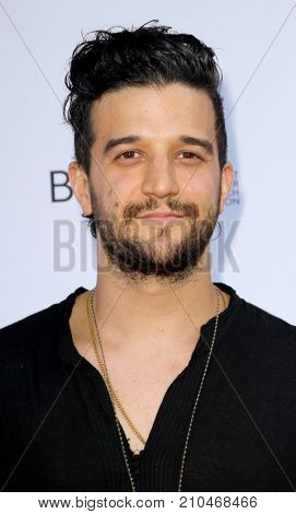 Mark Ballas of Alexander Jean arrives at the taping of
