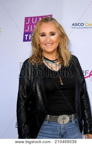 Melissa Etherridge arrives at the taping of