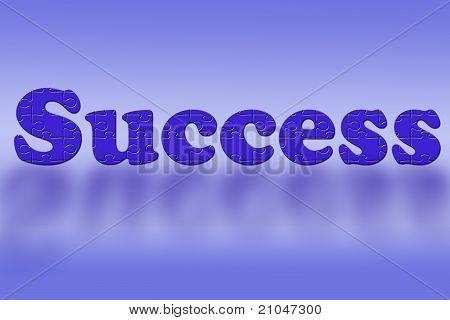 Success In Puzzle Pieces