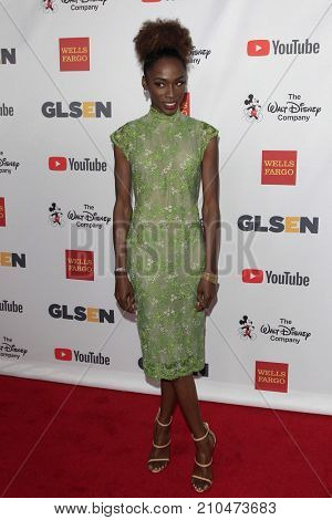 LOS ANGELES - OCT 20:  Angelica Ross at the 2017 GLSEN Respect Awards at the Beverly Wilshire Hotel on October 20, 2017 in Beverly Hills, CA