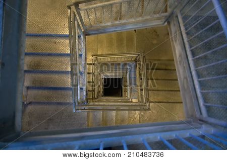 Twisted stairs lead to a dubious destination