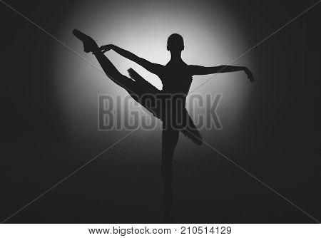 Ballet, Ballet dancer, Dancer, Sneaker, Stretching, Black and White, Art, Dance, Jump