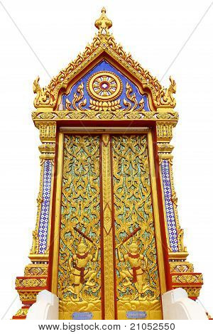 Temple Thai Door