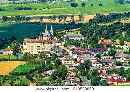 View On Spisske Podhradie Town From Spis Castle - Presov Region, Slovakia