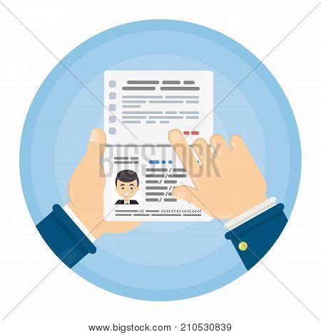 Opened female's passport. Identification documents for citizen.