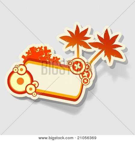 beach sticker