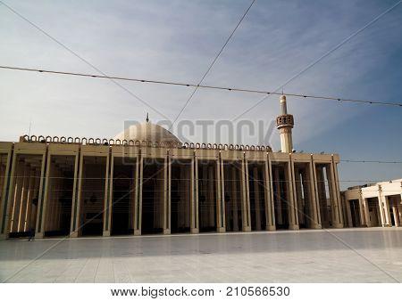 Exterior view to Kuwait Grand Mosque Kuwait-city Kuwait