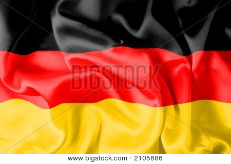 German Flag - Digital Illustration