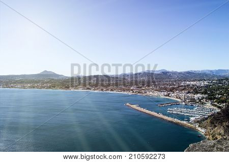 Javea From The Viewpoint Of The Cape Of San Antonio In Alicante