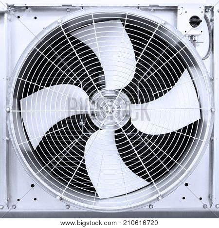 air turbine fan for ventilation and air conditioning