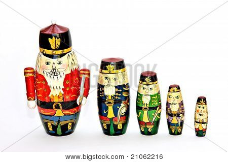 Nesting Doll Soldiers