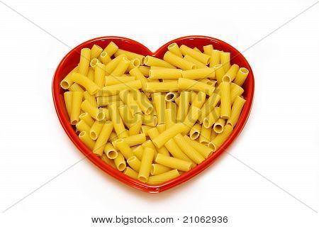 Heart Dish Pasta