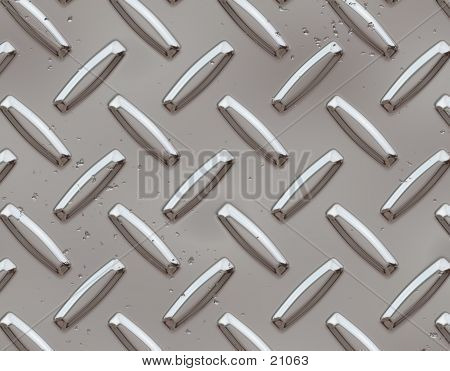 Digital image of metal tread poster
