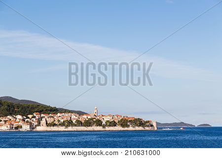 Mini Dubrovnik Seen From A Boat