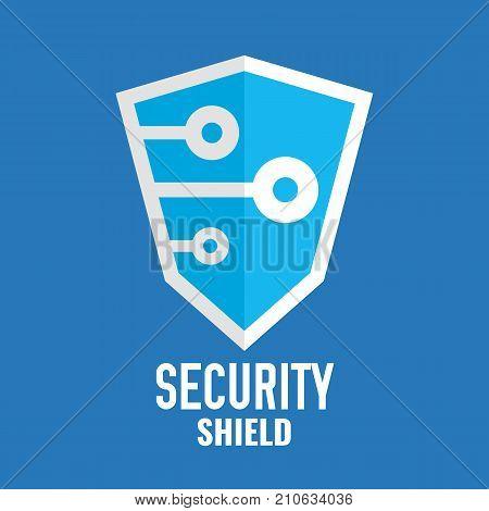 Security Shield Logo Vector & Photo (Free Trial)   Bigstock