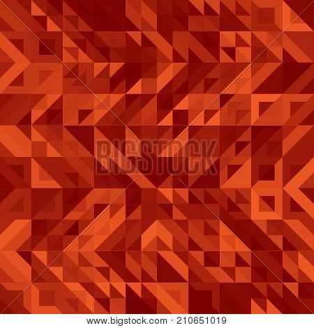Fashion Background of Geometric Shapes, Trendy Colorful Mosaic Pattern, Presentation Triangle Abstract Grid, Pillow Multicolored Print, Retro Texture, Hipster Design