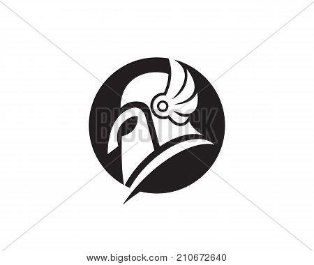 spartan helmet logo vector photo free trial bigstock