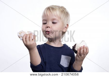 Boy With Cakes